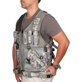 Modern Warrior Digital Camo Tactical Outdoors Hunting Vest