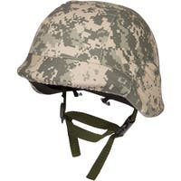 Tactical M88 ABS Tactical Helmet With Adjustable Chin Strap by Modern Warrior (Digital Camo)