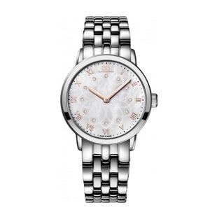 Rue Du Rhone Women's 87WA140013 'Double 8' Diamond Silver Stainless steel Watch