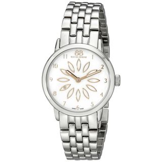 Rue Du Rhone Women's 87WA140009 'Double 8' Diamond Two-Tone Stainless steel Watch
