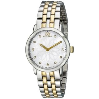 Rue Du Rhone Women's 87WA140008 'Double 8' Diamond Silver Stainless steel Watch