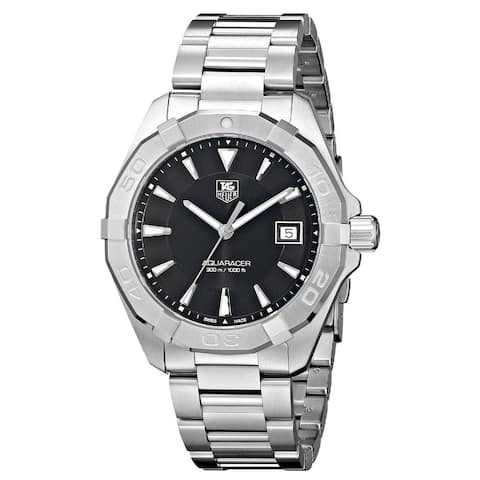 Tag Heuer Men's WAY1110.BA0910 'Aquaracer' Silver Stainless steel Watch