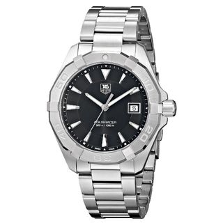 Link to Tag Heuer Men's WAY1110.BA0910 'Aquaracer' Silver Stainless steel Watch Similar Items in Women's Watches