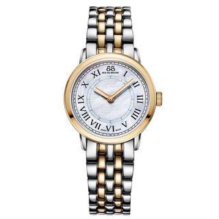 Rue Du Rhone Women's 87WA120060 'Double 8' Two-Tone Stainless steel Watch