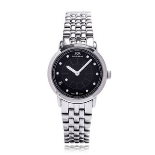 Rue Du Rhone Women's 87WA120003 'Double 8' Diamond Silver Stainless steel Watch