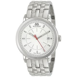 Rue Du Rhone Men's 87WA120063 'Double 8' Silver Stainless steel Watch