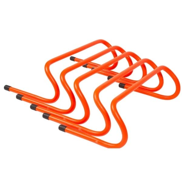 6-inch Speed Training Hurdles (Pack of 5)