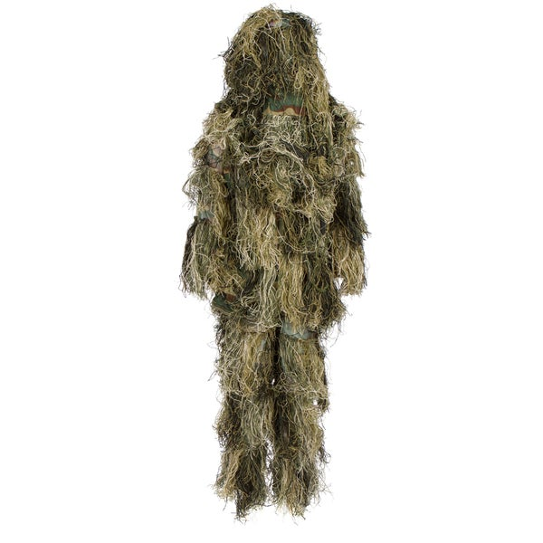 Modern Warrior 3-piece Ghillie Suit Sniper Costume for Airsoft Paintball and Outdoors