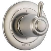 Delta 6-Setting 3-Port Diverter Trim T11900-SS Stainless