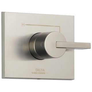 Delta Stainless Vero Monitor(r) 14 Series Valve Trim Only T14053ss