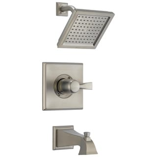 Delta Stainless Dryden Monitor(r) 14 Series Tub and Shower Trim T14451ss