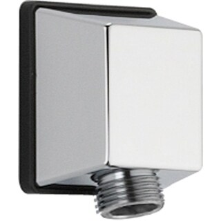 Delta Chrome Square Wall Elbow For Handshower Pipe Accessory