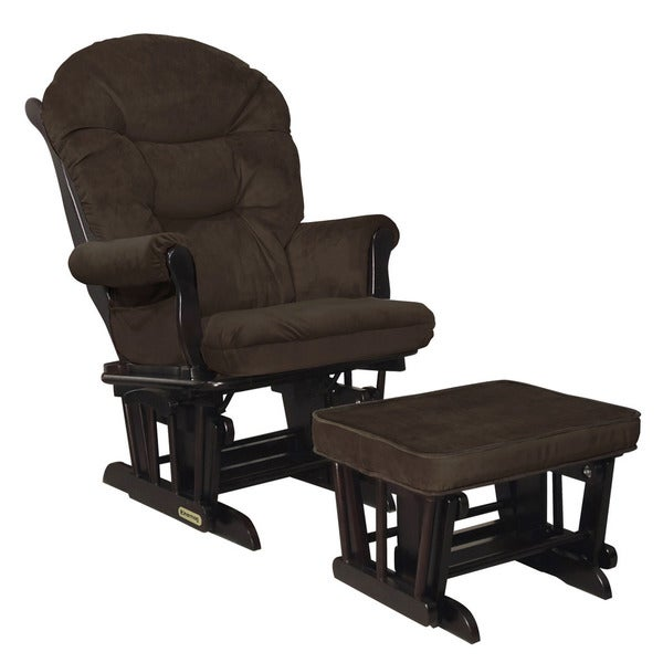 Shop Shermag Espresso Bella Mocha Glider Combo With Lock