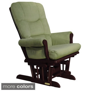 Shermag Swivel Upholstered Glider Recliner