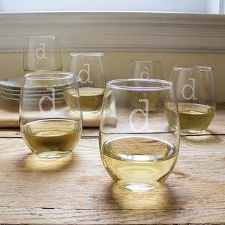 15-ounce Personalized Stemless Wine Glasses (Set of 6)|https://ak1.ostkcdn.com/images/products/10234826/P17355456.jpg?impolicy=medium