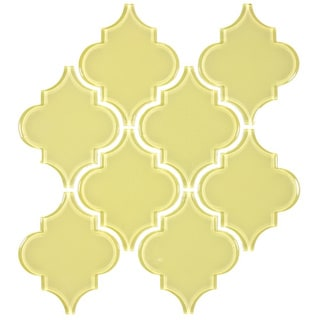 Glass Tile - Arabesque 1 case of 11 sheets (7.04 Sq. ft.)