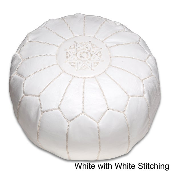 Strange Buy White Leather Ottomans Storage Ottomans Online At Gmtry Best Dining Table And Chair Ideas Images Gmtryco