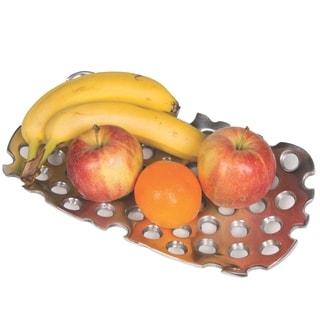 Handmade Artisan Recycled Aluminum Fruit Platter (Morocco)