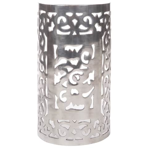 Handmade Aluminum Wall Sconce (Morocco)