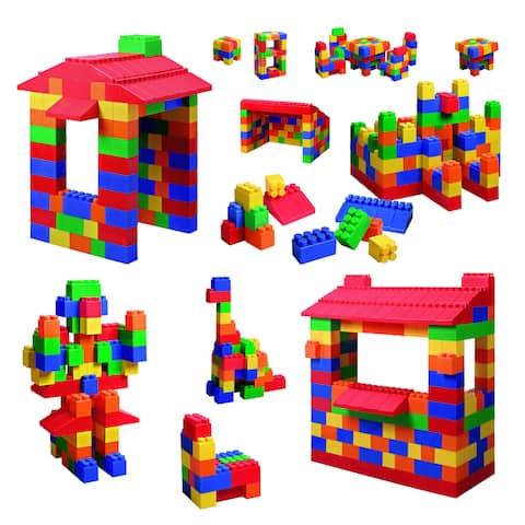 Grand Forward Mighty Big Blocks 100-piece Assorted Sizes Set - Multi