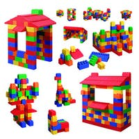 Grand Forward Mighty Big Blocks 100-piece Assorted Sizes Set - Multi