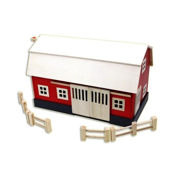 Homewear Big Red Barn Wood