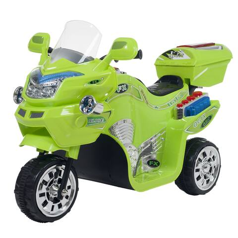 Ride on Toy, 3 Wheel Motorcycle for Kids by Lil Rider  Battery Powered Ride on Toys for Boys & Girls