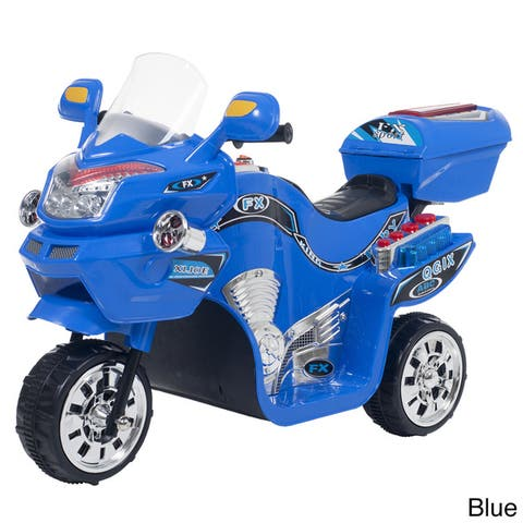 Ride on Toy, 3 Wheel Motorcycle for Kids by Lil? Rider ? Battery Powered Ride on Toys for Boys & Girls