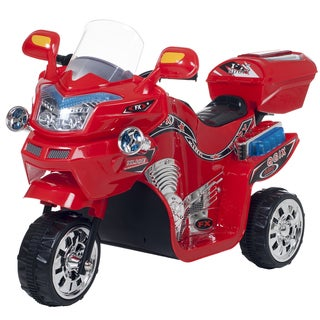 Lil Rider 3-wheel Raptor Red FX Battery Operated Motorcycle