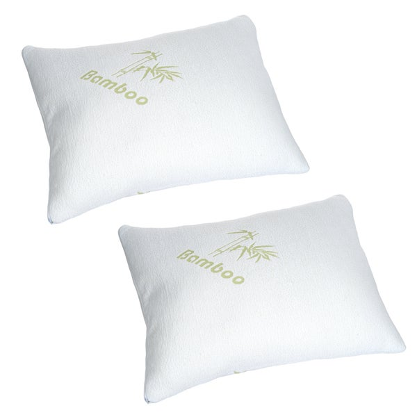 Memory Foam Pillow, Pillow Cover Bamboo from Rayon, Bed Pillows for Comfort & Support by Windsor Home