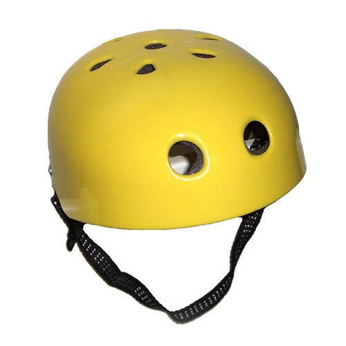 Yellow Helmet Costume Legends of the Hidden Temple Guts Bobsled Cool Runnings