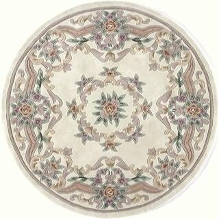 Maisie Hand-Tufted Wool Oriental Area Rug