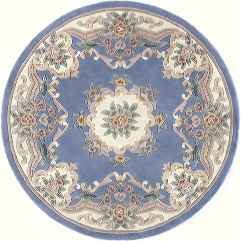 "Iona Hand-Tufted Wool Oriental Area Rug (72"") - 15 6'"