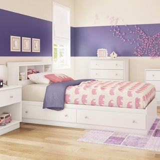 South Shore 39-inch Litchi Twin Mates Bed