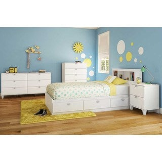 South Shore 39-inch Karma Twin Bookcase Headboard
