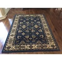 Admire Home Living Caroline Cobalt Area Rug (3'3 x 4'11)