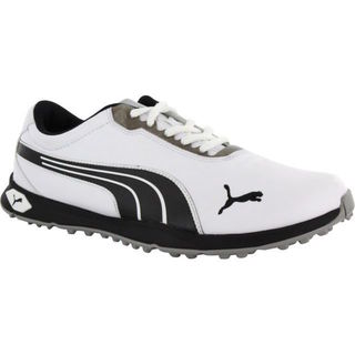 Puma Men's Biofusion Spikeless White/ Black/ Silver Golf Shoes
