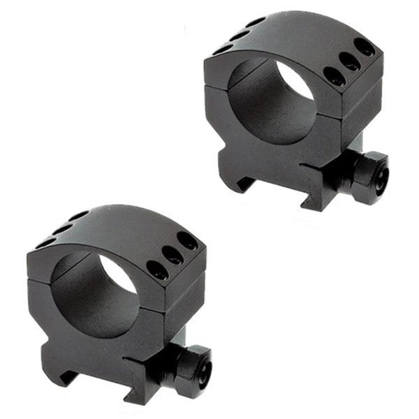 Burris XTR 34mm Rings Medium .5-inch Height Two Rings 6x4