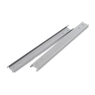 Alera Three Row Aluminum Hangrails for 42 inch Files (Pack of 2 Rails)