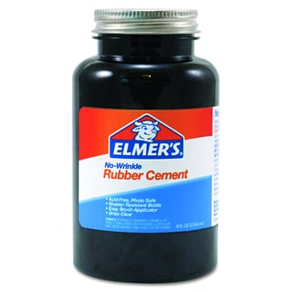 Elmer's Repositionable 8 oz Rubber Cement