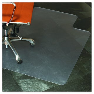 ES Robbins Natural Origins Clear Chair Mat With Lip For Hard Floors