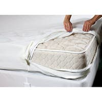 Complete Encaement Cotton top ZIpperd Bed Bug Waterproof Mattress Cover