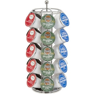 30-cup Premium Chrome Coffee Carousel