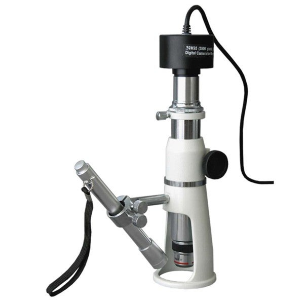 20X-50X-100X Measuring Shop Microscope with 9MP Camera