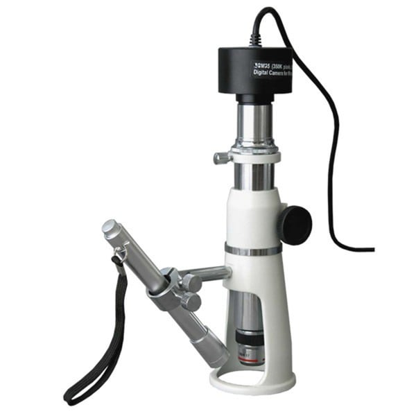 20X-50X-100X Shop Measuring Microscope with 1.3MP Digital Camera