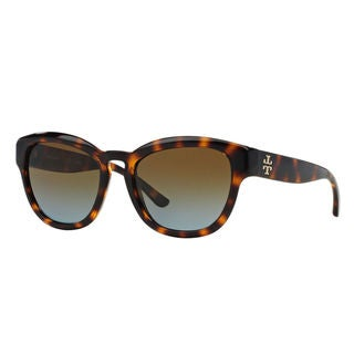 Tory Burch Women's TY9040 13781F Dark Tortoise Sunglasses