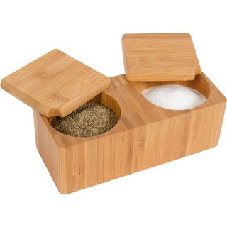Bamboo Salt and Pepper Box|https://ak1.ostkcdn.com/images/products/10235815/P17356259.jpg?impolicy=medium