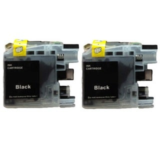 2-Pack Compatible Brother LC-101 MFCJ450DW MFCJ470DW MFCJ475DW MFCJ650DW MFCJ870DW MFCJ875DW MFCJ245 MFCJ285DW DCPJ152W Printers