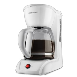 Black & Decker CM1200W White 12-cup Switch Coffeemaker
