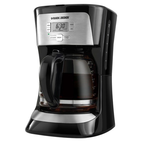 Black & Decker CM2020B 12-Cup Programmable Coffee Maker - Free Shipping Today - Overstock.com ...